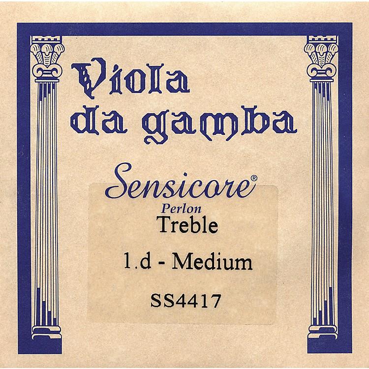 Super SensitiveSensicore Treble Gamba StringsD-1, Aluminum/Synthetic