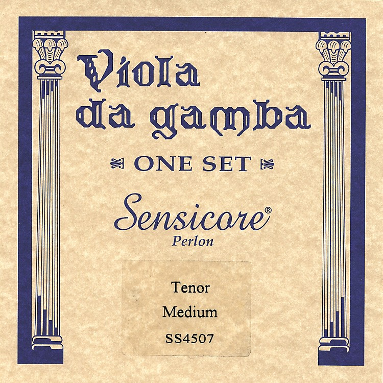 Super Sensitive Sensicore Viola de Tenor Gamba Strings Set, Medium