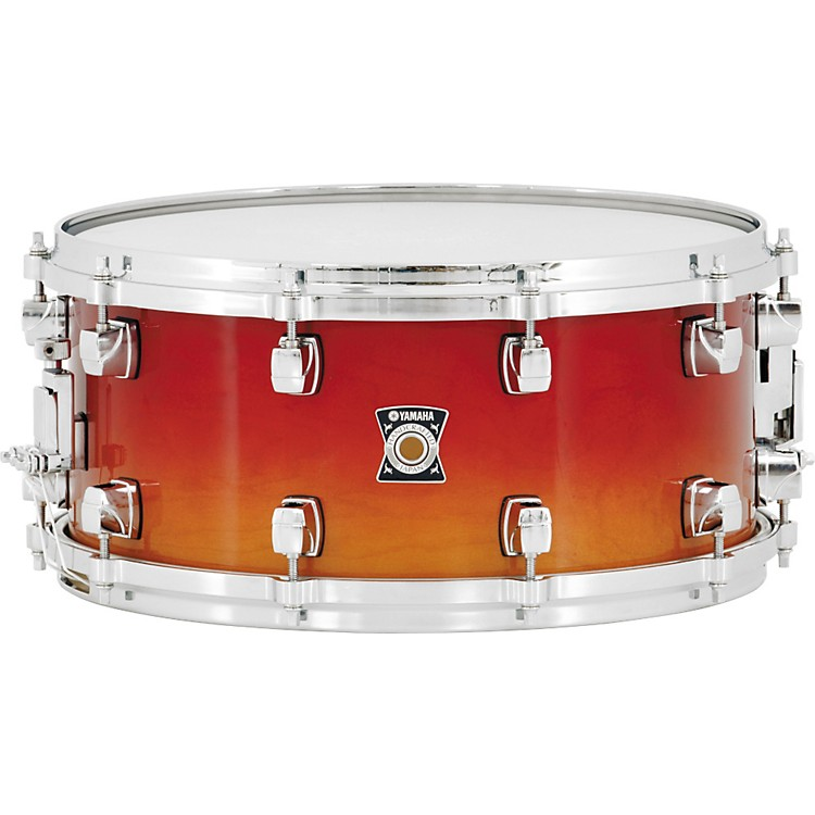 Yamaha Sensitive Series Snare Drum 14 x 6.5 Amber Sunburst
