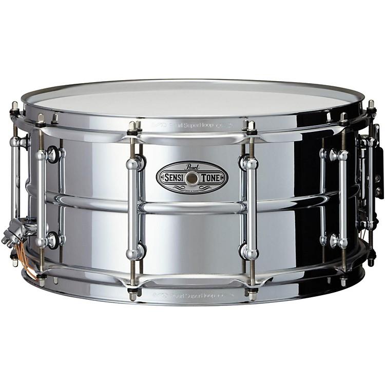PearlSensitone Beaded Steel Snare Drum14 x 6.5 in.