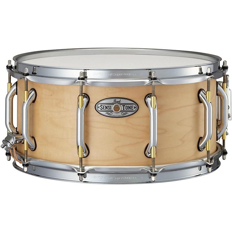 PearlSensitone Premium Maple Snare Drum14 x 6.5 in.Natural