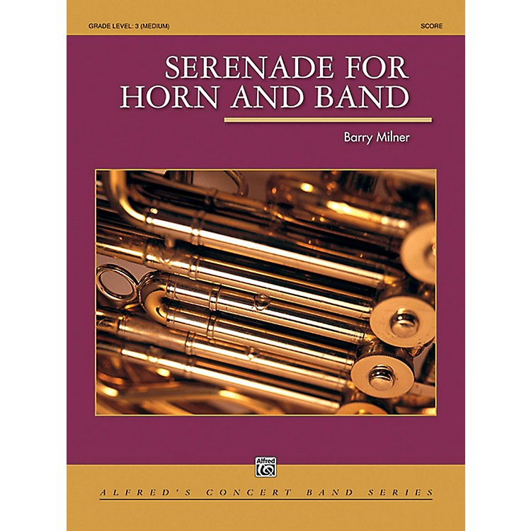 Alfred Serenade for Horn and Band Concert Band Grade 3 (Medium)
