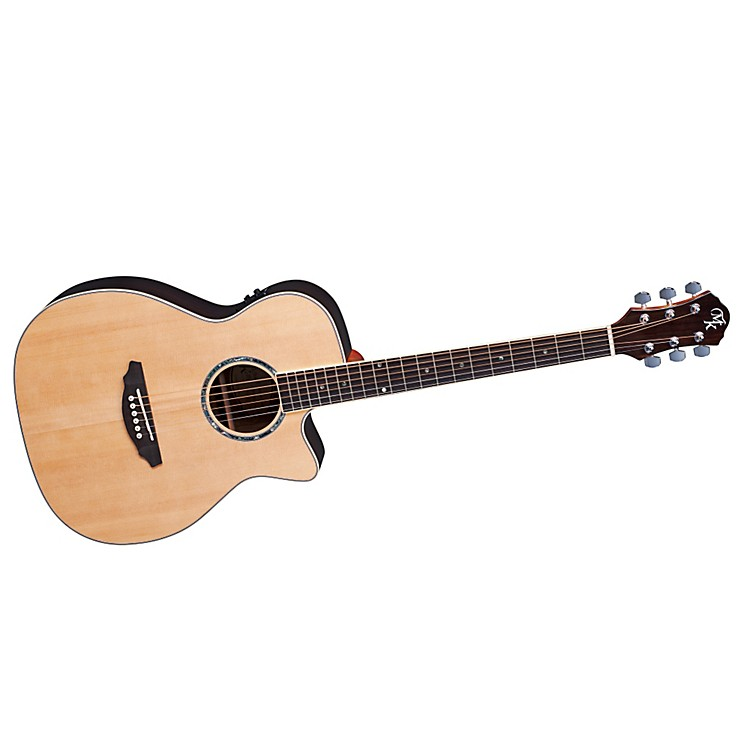 Michael Kelly Series 10 Folk Cutaway Acoustic-Electric Guitar Natural