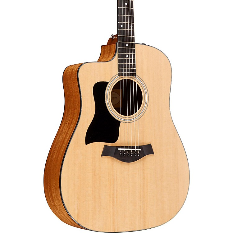 Taylor Series 110CE LH Dreadnought Left-Handed Acoustic-Electric Guitar Natural