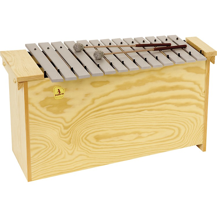 Studio 49 Series 1600 Orff Metallophones Diatonic Bass, Bm 1600