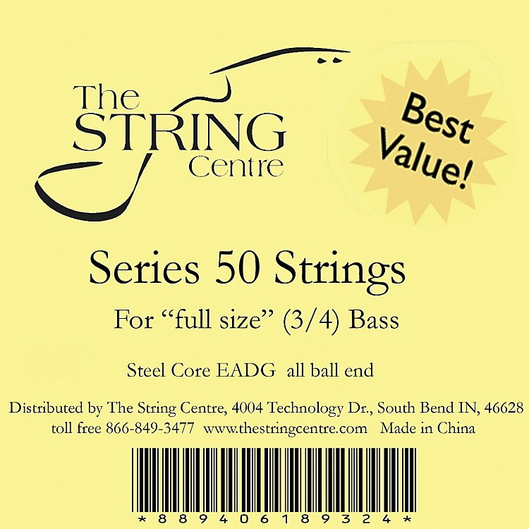 The String CentreSeries 50 Double Bass String Set