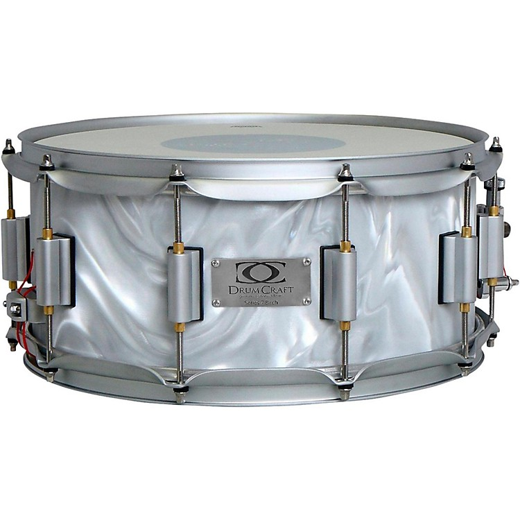 DrumCraft Series 7 Birch Snare Drum 10 x 6 in. Liquid Chrome