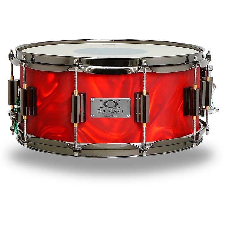 DrumCraft Series 7 Birch Snare Drum 14 x 6.5 in. Liquid Lava
