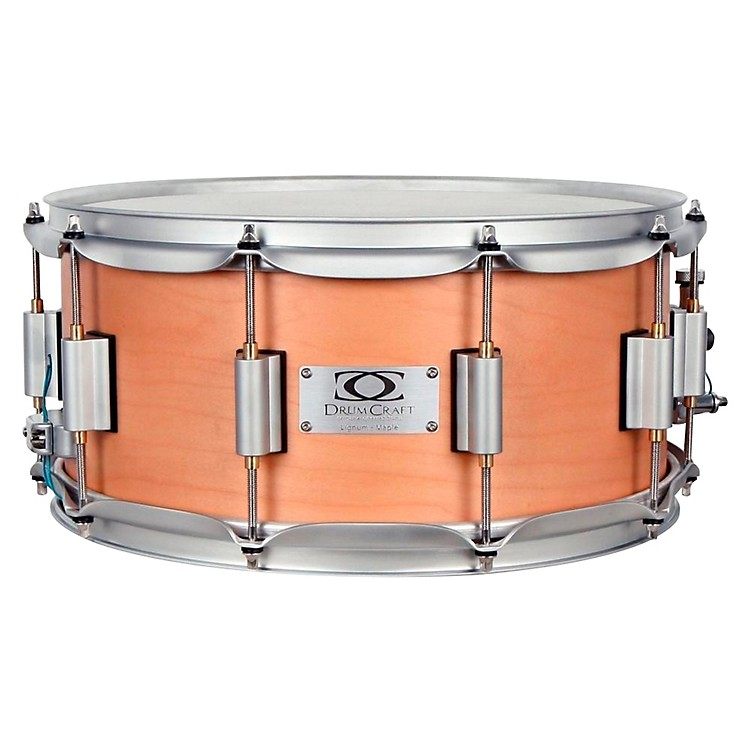 DrumCraft Series 8 Lignum Snare Drum Maple 14x6.5 Inch