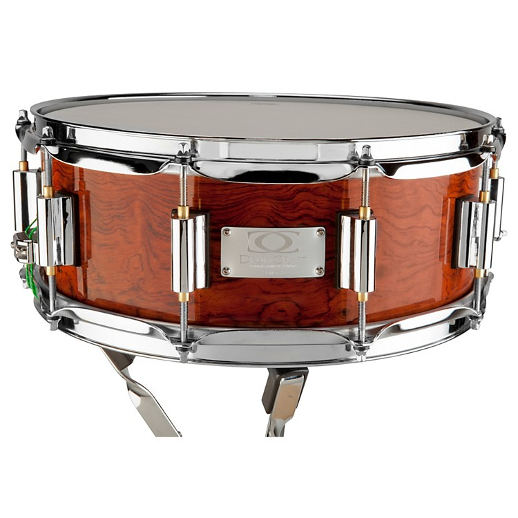 DrumCraft Series 8 Limited Edition Lignum Snare Drum Bubinga 14x5.5 Inch