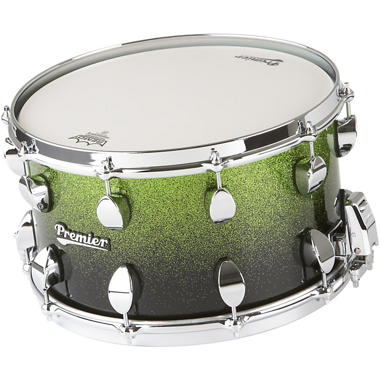 Premier Series Elite Maple Snare Drum Apple Fade Sparkle Lacquer 14x8