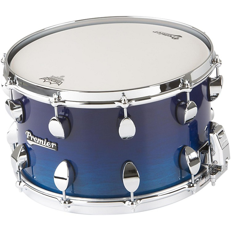 Premier Series Elite Maple Snare Drum Renee Blue Lacquer 14x8