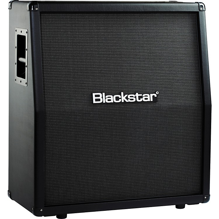 Blackstar Series One 412A/B 240W 4x12 Guitar Speaker Cabinet Black Slant