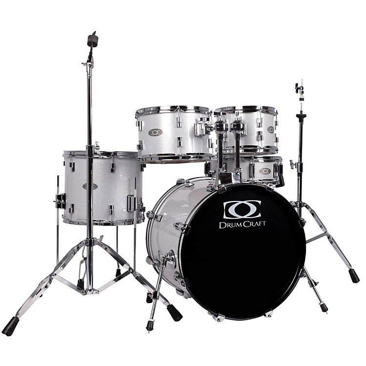 DrumCraftSeries Three 5-Piece Progressive DrumsetWhite Noise