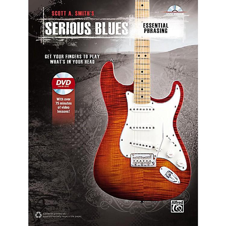 AlfredSerious Blues Essential Phrasing Book & DVD