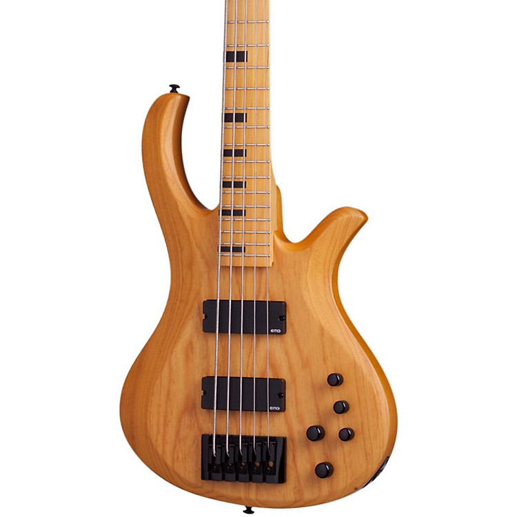 Schecter Guitar ResearchSession Riot-5 5 String Electric Bass GuitarAged Natural Satin