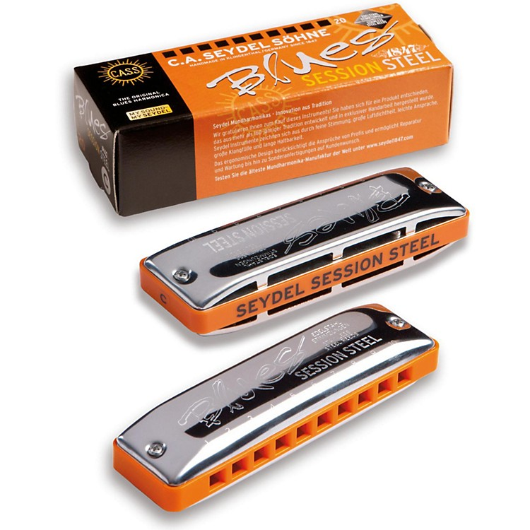 SEYDEL Session Steel Natural Minor Harmonica  Bb
