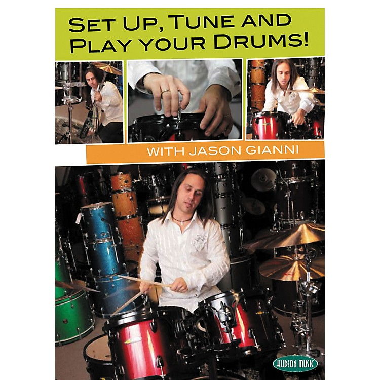 Hudson MusicSet Up, Tune and Play Your Drums with Jason Gianni DVD