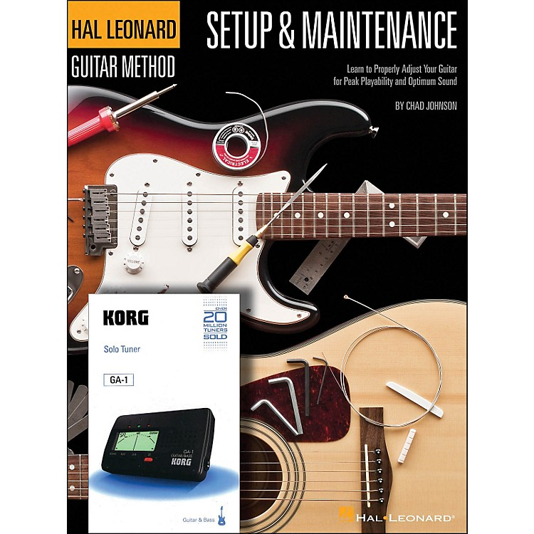 Hal Leonard Setup & Maintenance Hal Leonard Guitar Method Supplement (Includes Korg Tuner)