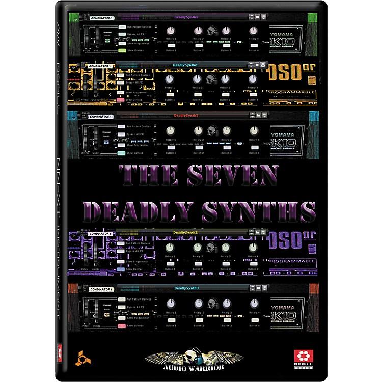 AudioWarriorSeven Deadly Synths Reason Refill
