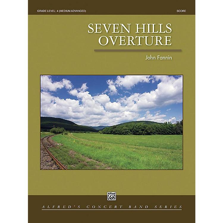 AlfredSeven Hills Overture Concert Band Grade 4 Set