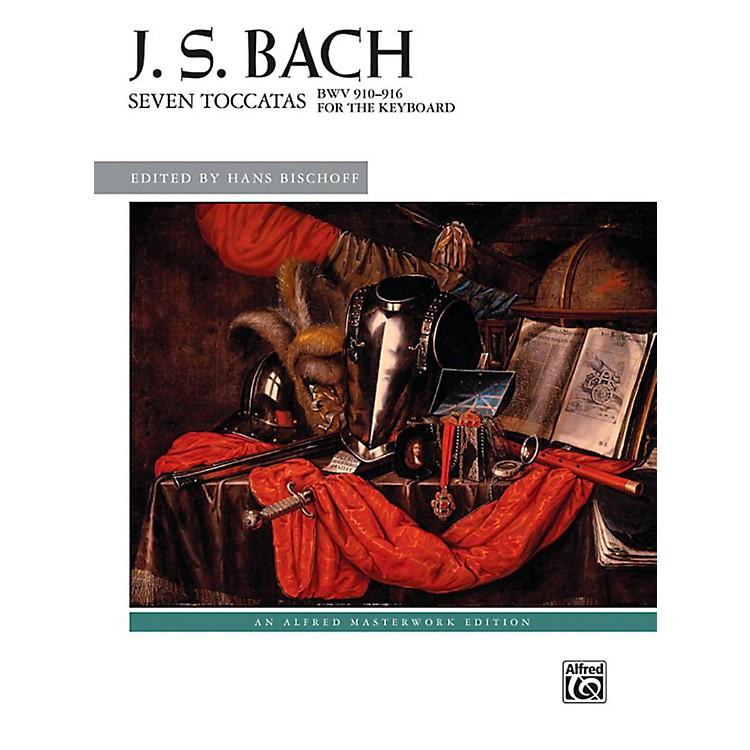 AlfredSeven Toccatas, BWV 910--916 - Book Advanced