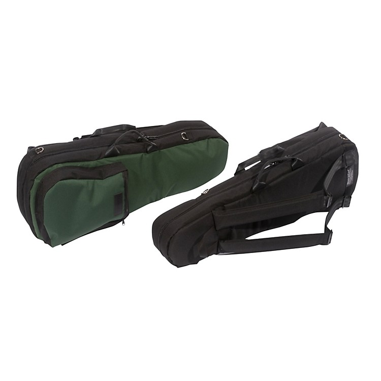 Mooradian Shaped Violin Case Slip-On Cover Black with Backpack Straps