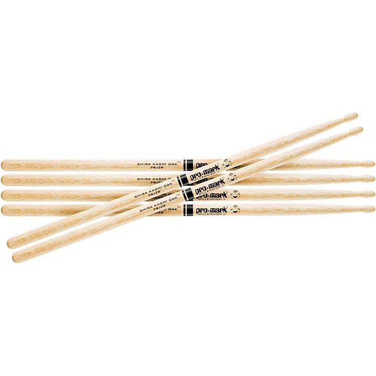 PROMARKShira Kashi Oak 5A Wood Tip Drum Sticks, Buy Two Get One Free