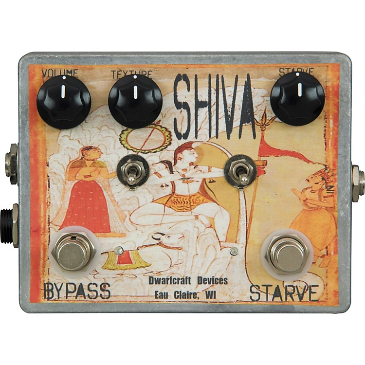 Dwarfcraft Shiva Fuzz Guitar Effects Pedal