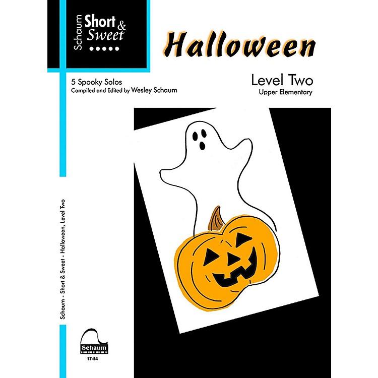 SCHAUMShort & Sweet Halloween, Level Two Late Elementary