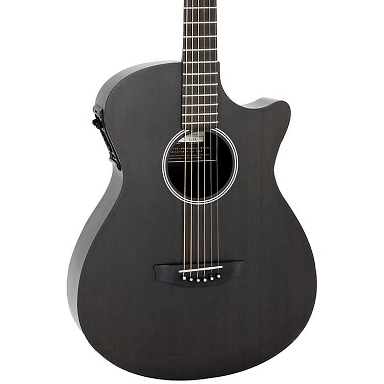 Rainsong Shorty-FT Acoustic-Electric Guitar Fine Texture finish