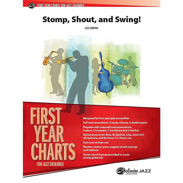 AlfredShout, Stomp, and Swing! Jazz Band Grade 1 Set