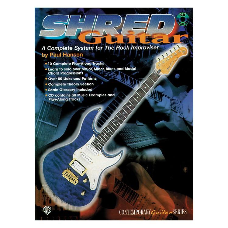 AlfredShred Guitar: A Complete System for the Rock Guitar Improviser Book/CD