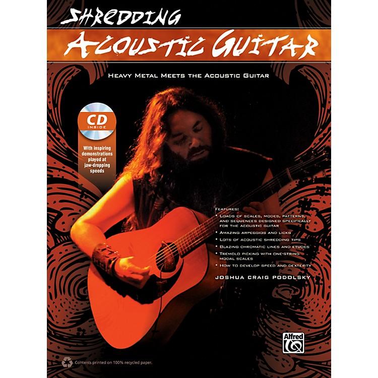 AlfredShredding Acoustic Guitar Book & CD