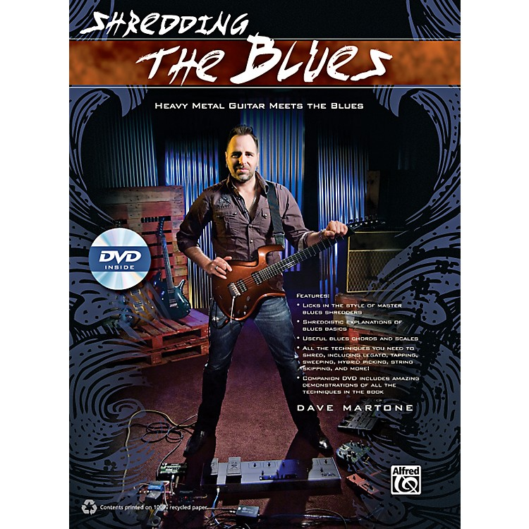 AlfredShredding the Blues Book & DVD