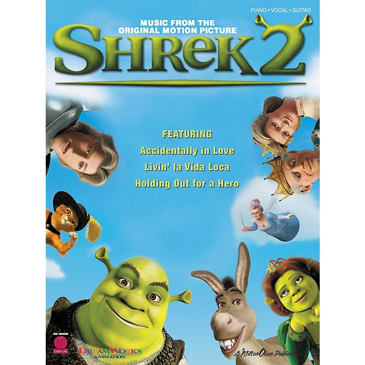Cherry Lane Shrek 2 Piano, Vocal, Guitar Songbook