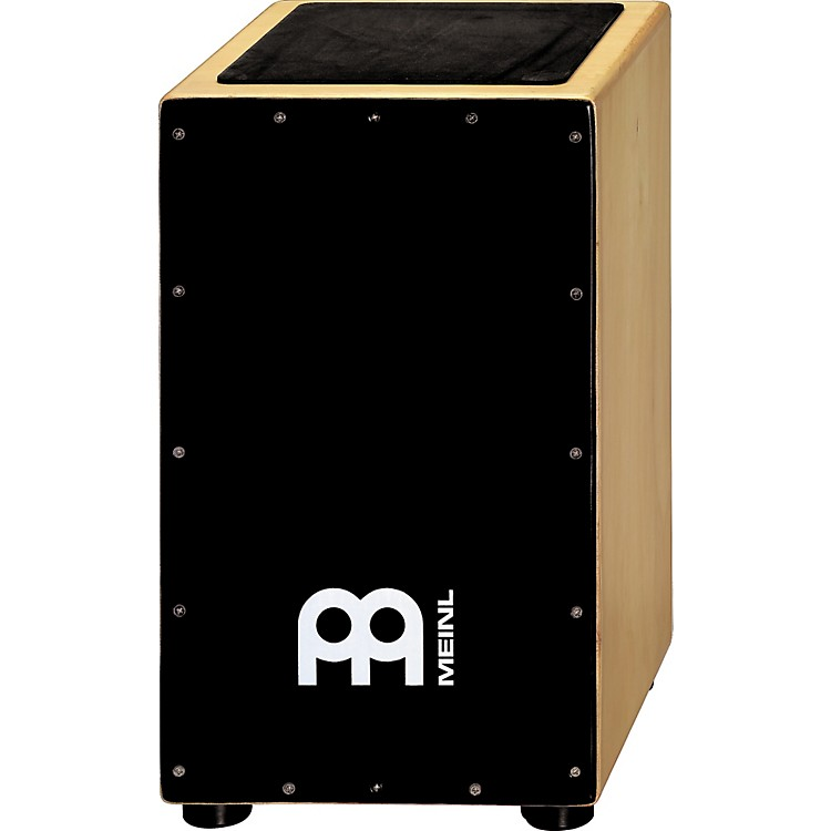 Meinl Siam Oak Cajon with Fiberglass Front Black