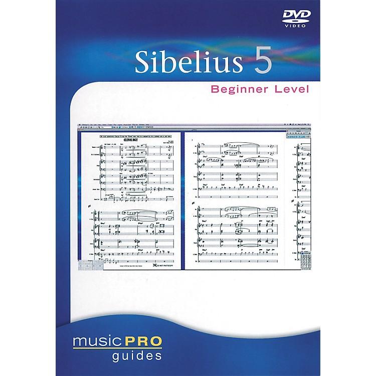 Hal LeonardSibelius 5 Beginner Level - Music Pro Guides Series (DVD)