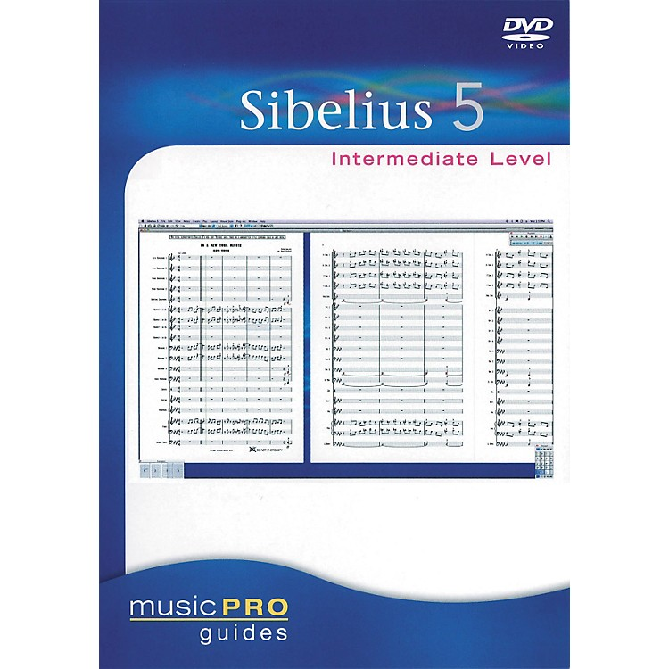 Hal Leonard Sibelius 5 Intermediate - Music Pro Series (DVD)