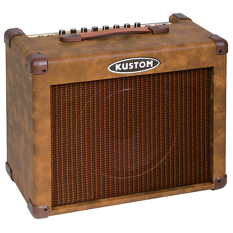 Kustom Sienna 30 Acoustic Guitar Combo Amp Brown