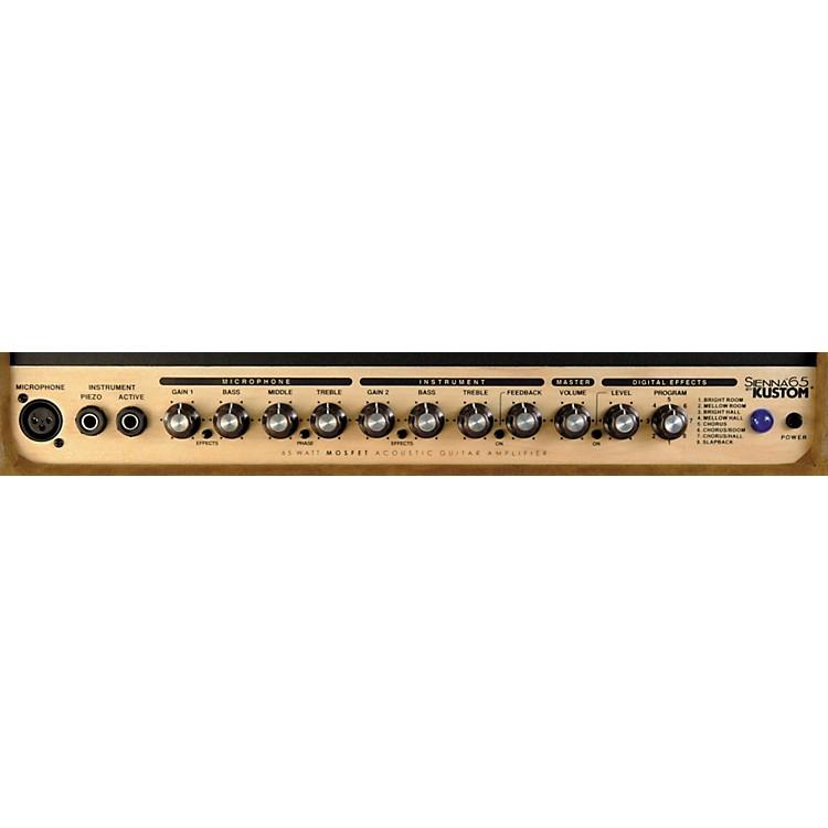 KustomSienna 65 65w 1x12 Acoustic Guitar Combo AmpBlack
