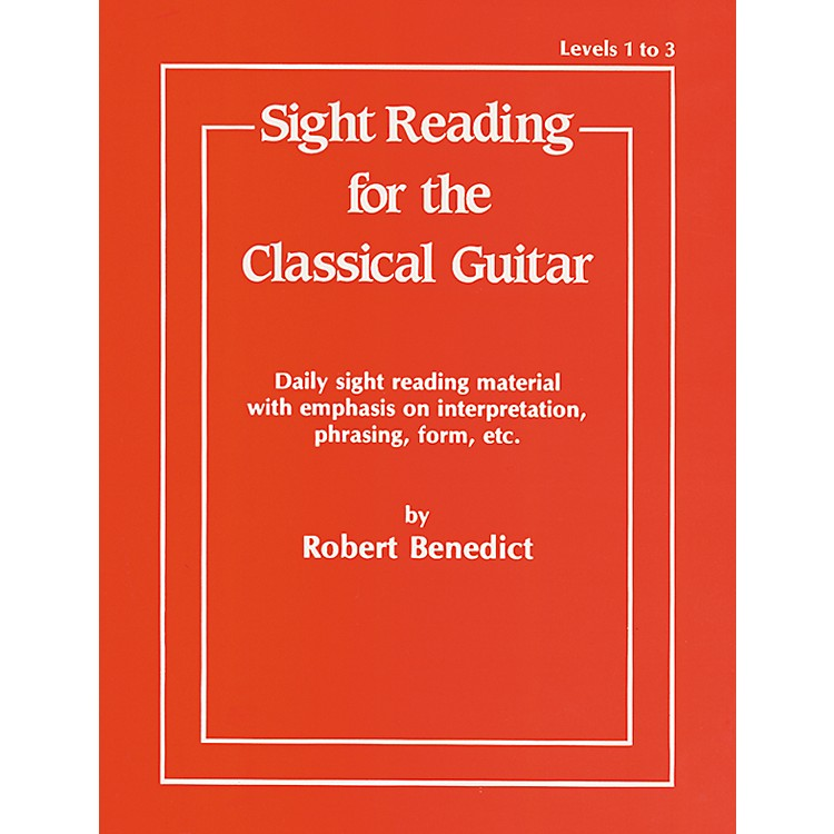 AlfredSight Reading for the Classical Guitar Level I-III
