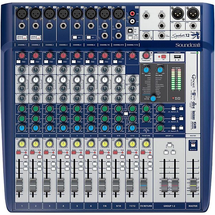 SoundcraftSignature 12 Analog Mixer