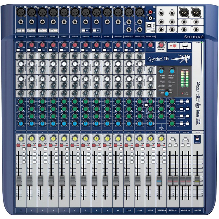 SoundcraftSignature 16 Analog Mixer