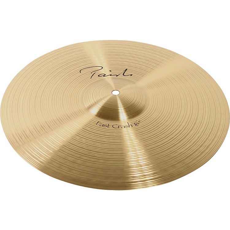 PaisteSignature Fast Crash Cymbal16 in.