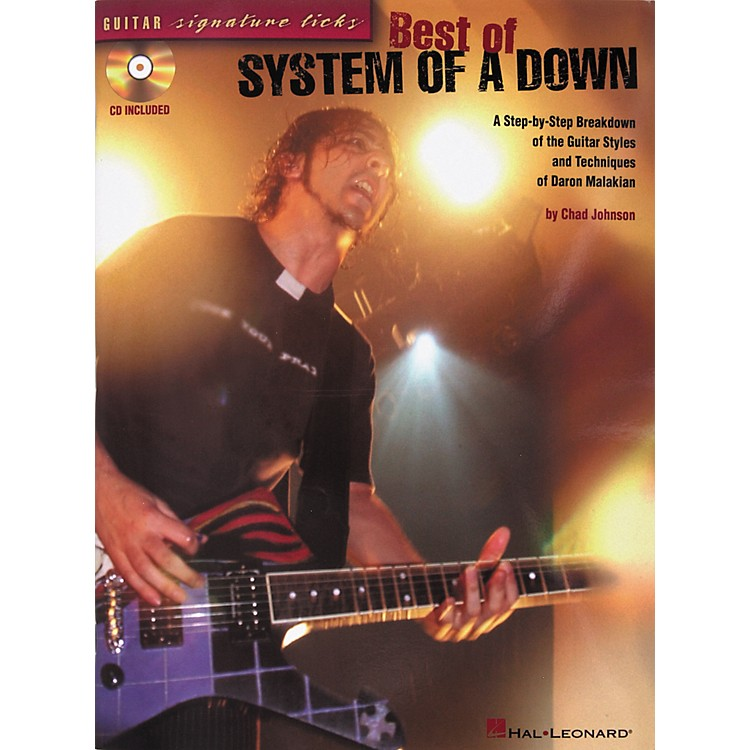 Hal LeonardSignature Licks Best of System of A Down Guitar Tab Songbook with CD