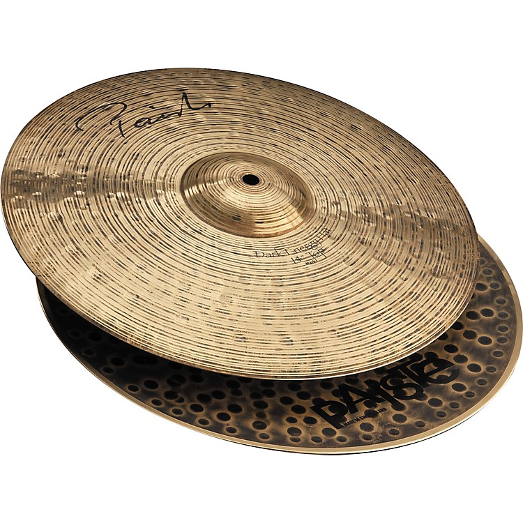 Paiste Signature Series Dark Energy MKI Hi-Hat Cymbal Pair  14 Inches