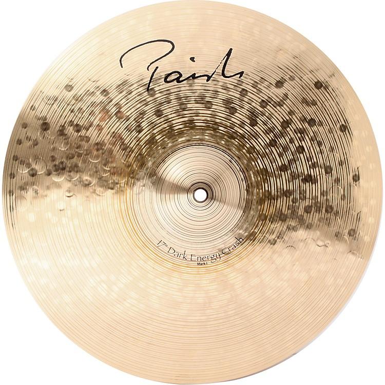 PaisteSignature Series Dark MKI Energy Crash Cymbal