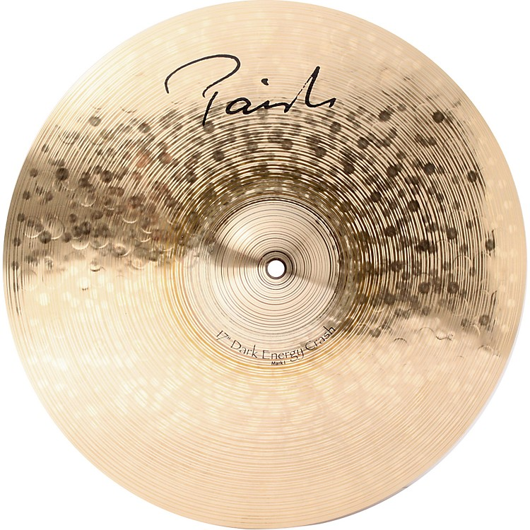 Paiste Signature Series Dark MKI Energy Crash Cymbal  17 in.