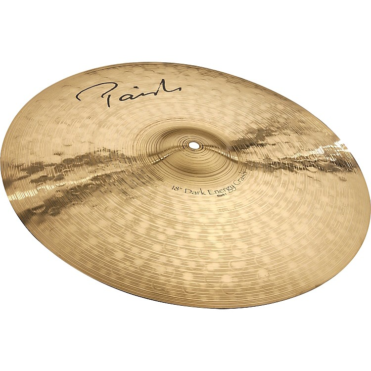 Paiste Signature Series Dark MKI Energy Crash Cymbal  18 in.
